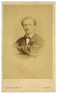 Portret van Jacob Alexander Roell (1838-1924)