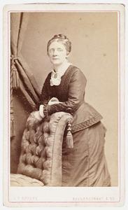 Portret van Johanna Maria Gesina le Jolle (1815-1889)
