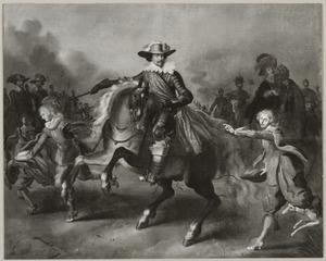 Ruiterportret van Frederik Hendrik van Oranje-Nassau (1584-1647) met zijn gevolg