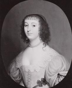 Portret van Elisabeth van de Palts (1618-1680)