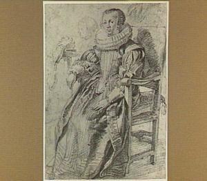 Studie voor een vrouwenportret
