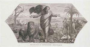 De schepping van de dieren (Genesis 1:24, 25)