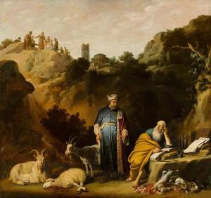 Het bezoek van Hippocrates aan Democritus te Abdera