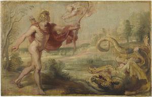 Apollo en de python (Ovidius, Metamorfosen, I, 441-444)