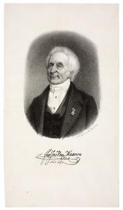 Portret van Florentius Jacobus van Maanen (1777-1861)