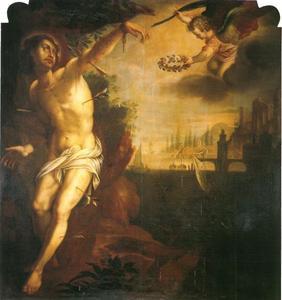 Het martelaarschap van de Hl. Sebastiaan