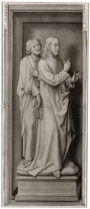 De cijnspenning: Christus en een discipel (de zogenaamde Cambrai-triptiek)