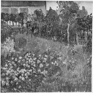 Hoekje van de tuin van Daubigny