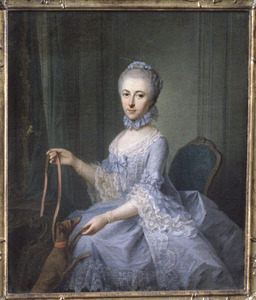 Portret van Theodora Cornelia Vingerhoed ( -1765)