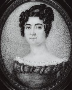 Portret van waarschijnlijk Constantia Catharina Wilhelmina van Scheltinga (1804-1890)