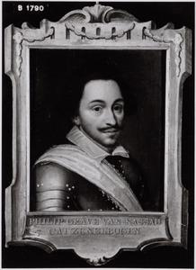 Portret van Philips van Nassau (1566-1595)
