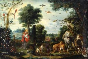 De schepping van de dieren (Genesis I : 20-25)