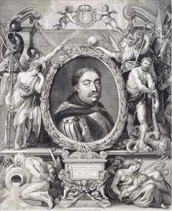 Portret van Jan III Sobieski (1629-1696), koning van Polen