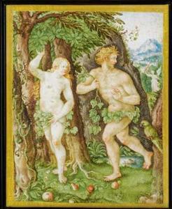 Adam en Eva verdreven uit het paradijs