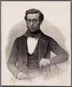 Portret van Willem Hoyer (1819-1850)