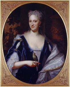 Portret van Sara Munter (1691-1758)