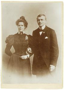 Portret van Antonie Ewoud van Arkel (1877-1944) en Cornelia Johanna Snellen van Vollenhoven (1876-1945)