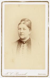 Portret van Margje Keus (1839-1905)