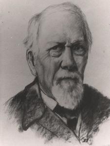 Zelfportret van Johannes Mattheus Graadt van Roggen (1867-1959)