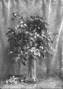 Bloemstilleven met zonnebloemen