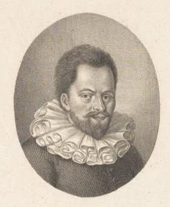 Portret van Simon Stevin (1548-1620)