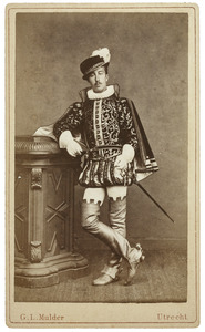 Portret van Dirk Bastert (1860-1950) als Heer van Steenbeeke