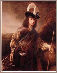 Portret van een onbekende jongeman, mogelijk als Jacob