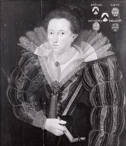 Portret van Margriete (Maria) van Leefdael (?-1627)