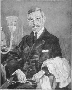 Portret van dr. M. van Spanje