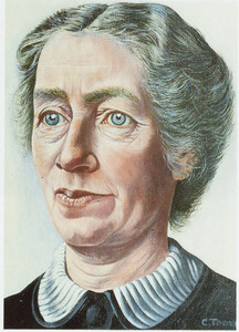 Portret van Charlotte Catharina Hasselman (1878-1966)
