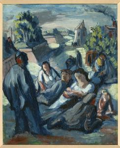Herinneringen aan de fortificaties I, Parijs