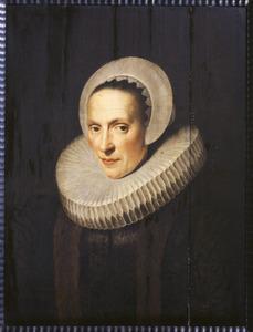 Portret van Anna Ruychaver (1573-1649)