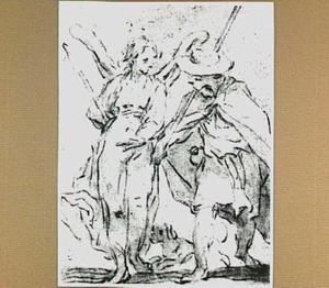 Tobias en de engel Rafaël (Tobias 6:1)