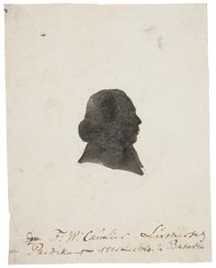 Portret van Frederik Wilhelm Caulier (....-1787)