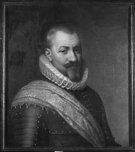 Portret van Werner van den Houte gezegd du Bois ( -1607)