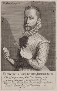 Portret van Frans Pourbus (1545-1581)