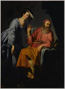 Phryne tracht de filososoof Xenokrates tevergeefs te verleiden
