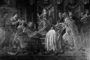 Jezus ondervraagt de schriftgeleerden (Lukas 2:41-52)