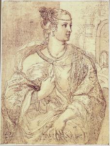 Keizerin Lepida, echtgenote van keizer Galba (3 voor Chr.-69 na Chr.)