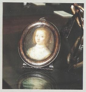 Portret van waarschijnlijk Anna Maria van Schurman (1607-1678)