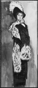 Portret van Jeanne Wilhelmina Catharina Godin (1876-1965)