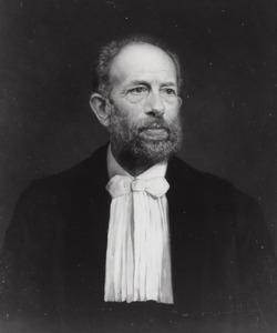 Portret van Hendricus Cornelis Dibbits (1838-1903)