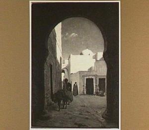 Straatje in Tunis
