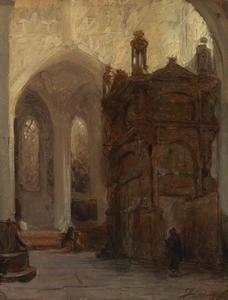 Kerkportaal van de Sint Pieter te Leuven