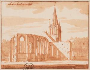 De kerk van Voorschoten