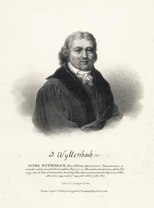 Portret van Daniel Wyttenbach (1747-1820)