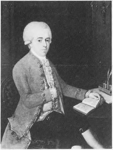 Portret van Corneille (Cornelis) Balguerie (1746-1809)