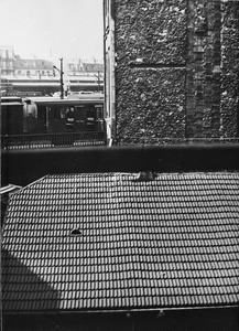 Gare Montparnasse, uitzicht vanuit Piet Mondriaans atelier