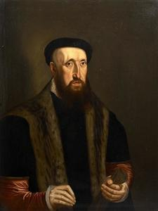 Portret van Roland de Pottere (?-1567)