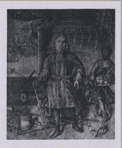 Portret van Willem van der Zaan (1621-1669)